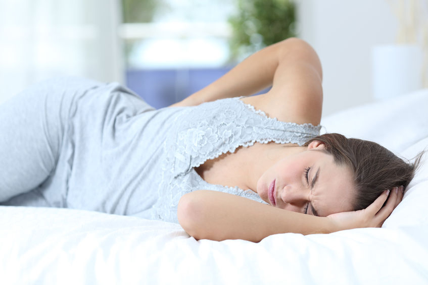 Sleeping with low back pain