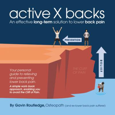 Best back pain book - active X backs